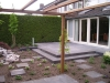 Strakke tuin aangelegd in Ootmarsum.