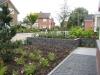 Strak en onderhoudsvriendelijke tuin aangelegd in Ootmarsum.