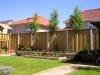 Tuin bij Appartementen complex aangelegd in Denekamp.